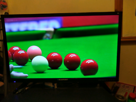 "Blaupunkt 32"" led HD TV with Freeview, excellent condition."