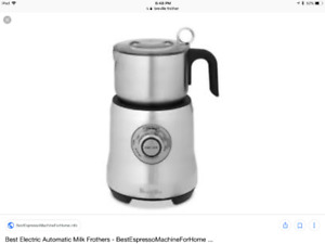 Looking for a Milk Frother