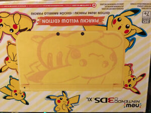 New 3ds pikachu edition