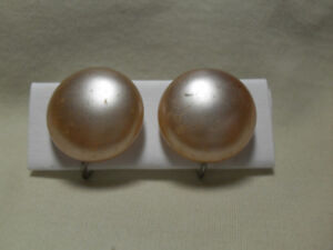 Vintage Clip-on Earrings - $10 each or 3 for $25/open to offers