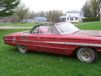 1964 ford galaxie xl convertible 3800.00 or trade