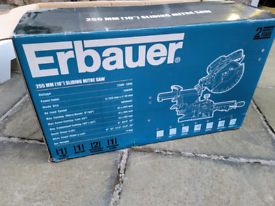 Erbauer Sliding Mitre Saw