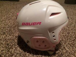 Girls Bauer Skating/Hockey Helmet