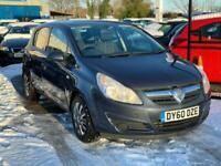 2010 Vauxhall Corsa Exclusiv 1.2 85PS Hatchback Petrol Manual