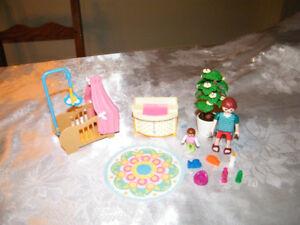 Playmobil nursery avec papa