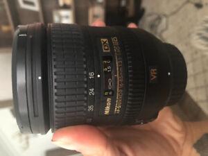NIKON 16-85mm Lens