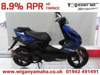 YAMAHA NS50 AEROX 4 NEW 4 STROKE 2018 MODEL BLUE OR GREY. 50cc Automatic Scooter