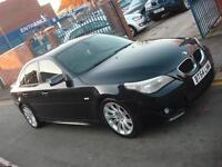 2004 54 PLATE BMW 525 2.5i Sport 4dr Automatic in Black