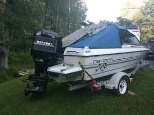 1998 champion  , full top , 115 mercury out board , mint shape ,