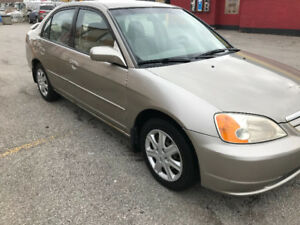 2003 Honda Civic LX, automatic, 4 door!