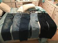 Men's Levi's 501 Jeans 5 pairs