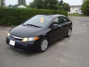 2008 HONDA CIVIC DXG 4DR $4500 TAX IN CHANGED INTO UR NAME