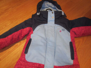 GIRLS SIZE 3 SNOWSUIT ***ALMOST BRAND NEW***