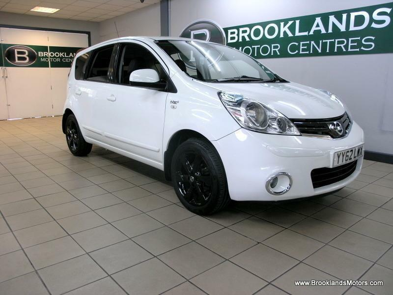 Nissan Note 1.6 16V N-TEC Auto [SAT NAV and LEATHER]