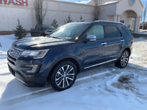 2016 Ford Explorer Platinum *NO TAX EXT. WARRANTY & SERVICE PLAN
