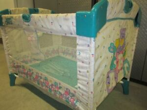 Older Style Play Pen - Easier to set up than New Styles