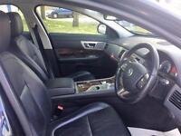 2011 Jaguar XF 3.0 TD V6 Luxury 4dr Diesel blue Automatic