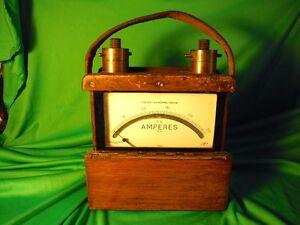 Superbe ampèremètre  de 1938