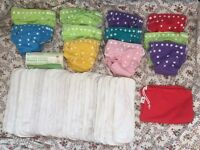 11 Little lamb birth to potty reusable nappies