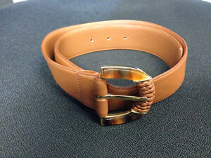 Vintage Valentino Leather Belt - Small