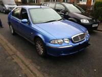 Rover 45 2ltr diesel years mot for swap