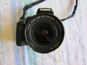 Canon Rebel XTi   parts camera as is