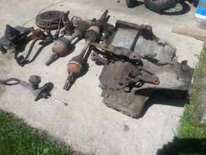 1989 pontiac sunbird 5spd /axles/flywheel