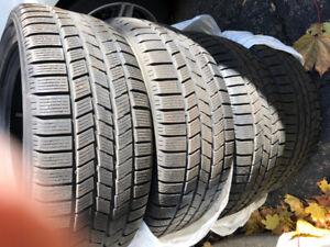 4 pneus d'hiver Pirelli 255/50 R 19. 107 H M+ S Mercedes ML350