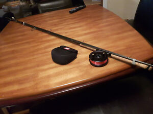 Float Rod and Reel 15' Frontier 3 piece and G Loomis Proto Type