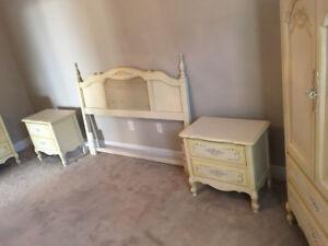 Fabulous Rare 5-Piece Vintage Bedroom Set