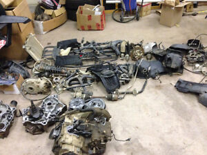 Parting out Kawasaki Brute Force/Prairie 650 & 750