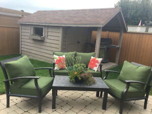 2 Patio sets
