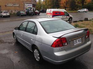 2003 Honda Civic Berline Gatineau Ottawa / Gatineau Area image 1