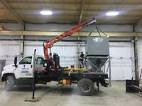 PICKER TRUCK FOR HIRE!! WELDING SKID HOISTING AND HAULING