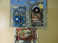 Mid 2000s Video Cards - $35