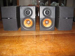 RCA Audio Surround Sound Speakers and Sub Woofer