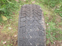 4 13 inch studded winter tires