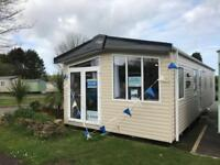 Large 13ft Static caravan for sale Regal Kensington 2 bed Cornwall not somerset