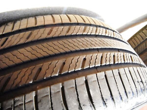 4 Bridgestone Turanza All Season Tires P205/55/16 -Lots of Tread