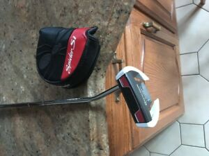 """TAYLORMADE SPIDER SI, 34 TO 38"""" LONG, MINT COND"""