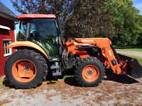 Kubota tractor for Sale 70 hp complete with Cab and Loader