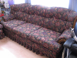 LIGHTLY USED THREE Piece Sofa Set