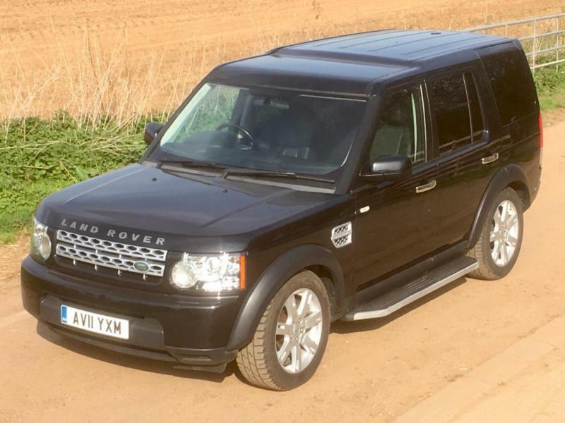 Land Rover Discovery 4 3.0TDV6 (210hp) Commercial 2011 Black NO VAT