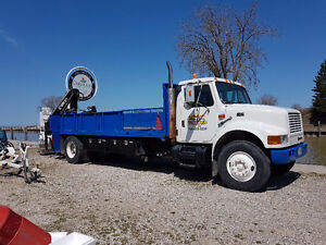 Heavy lift deliveries and boom truck services