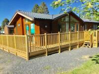 Superb 3 bedroomed Timber Lodge Holiday Lodge For Sale, Lake District, Ullswater
