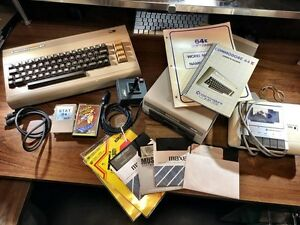 Commodore 64 – full set of working parts - vintage
