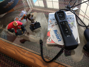 Wii System and Mario Game and others