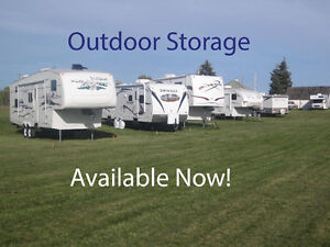 OUTDOOR STORAGE for Rvs, Trailers, Boats & Trucks