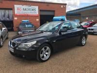 2005(05) BMW 520D SE 2.5 TD auto Black Saloon, **ANY PX WELCOME**
