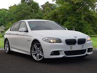 BMW 5 SERIES 2.0 520d M Sport 4dr (white) 2012